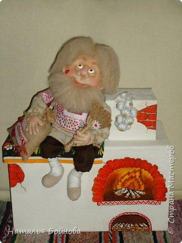 Скульптурно-текстильная кукла фото 3