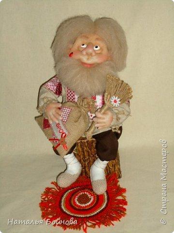 Скульптурно-текстильная кукла фото 2