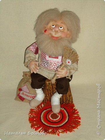 Скульптурно-текстильная кукла фото 1
