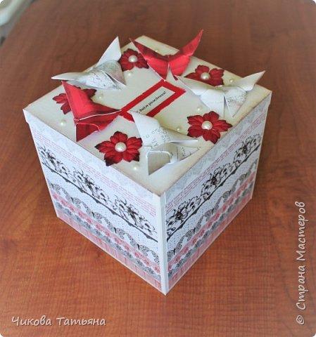 Всем здравствуйте! Делала на заказ блокнот на 100 листов форматом А5 и в комплект коробку для подарка размером 16*16*16 см.  фото 3