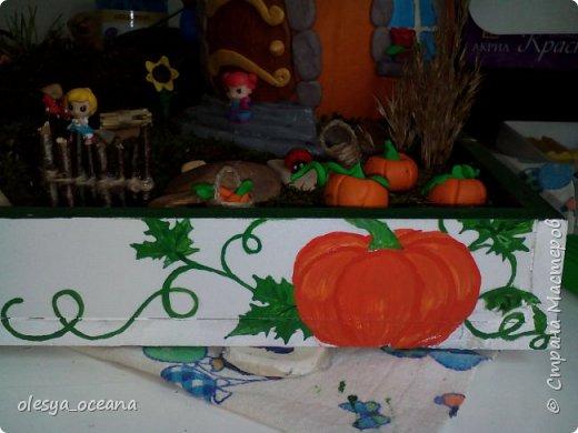 """Доброго времени суток.) Сегодня я покажу, не МК, а скорее просто фотографии нашей поделки в детский сад, на тему """"Осень"""". Ну и немного опишу нашу поделку. фото 3"""