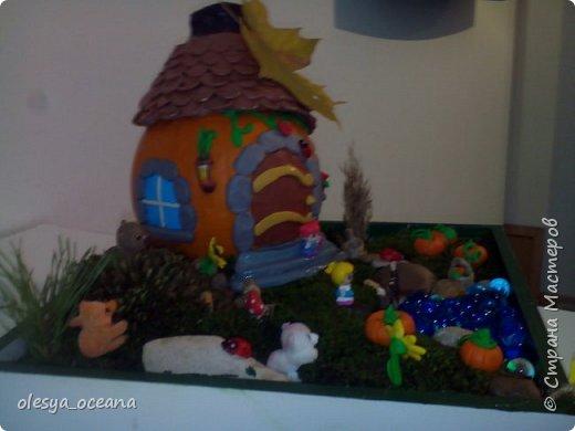 """Доброго времени суток.) Сегодня я покажу, не МК, а скорее просто фотографии нашей поделки в детский сад, на тему """"Осень"""". Ну и немного опишу нашу поделку. фото 5"""