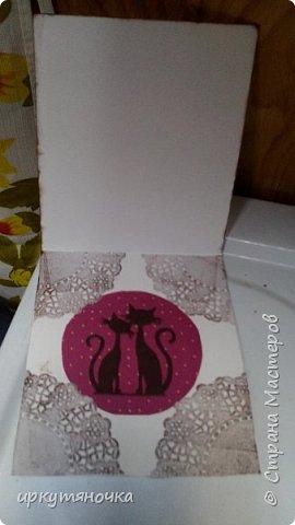 Эта открыточка уехала к Регининой дочке Саше фото 9