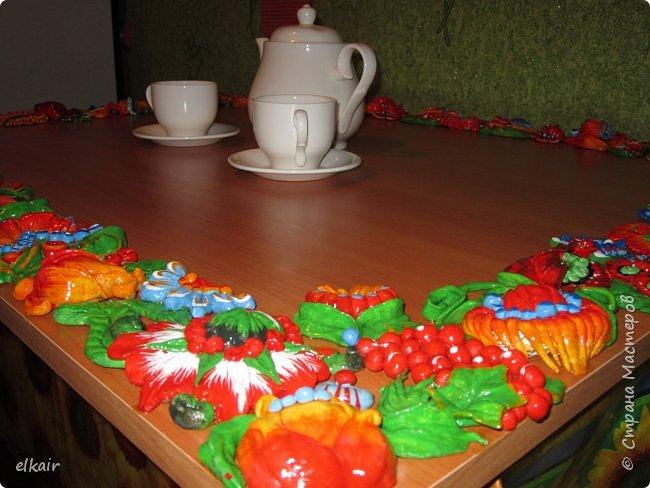 Цветочная феерия за столом фото 1