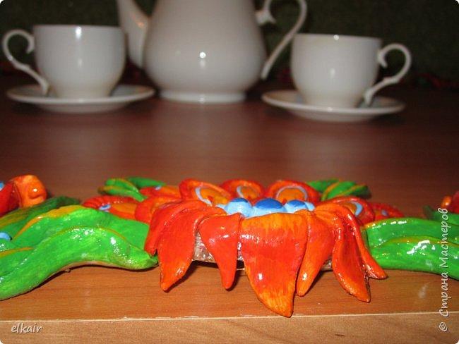 Цветочная феерия за столом фото 14