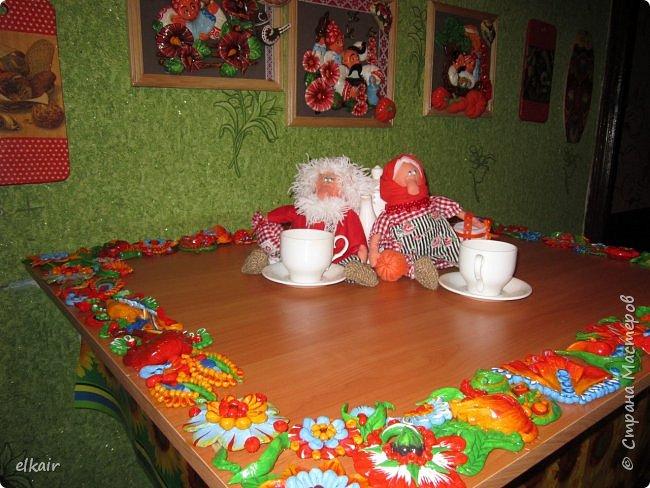 Цветочная феерия за столом фото 15