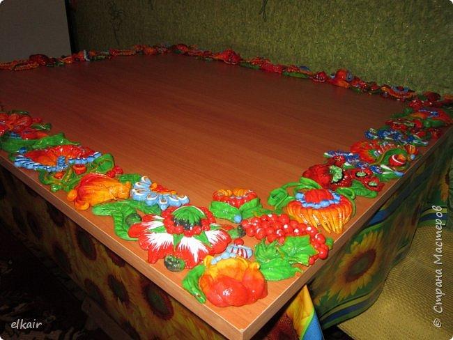Цветочная феерия за столом фото 16