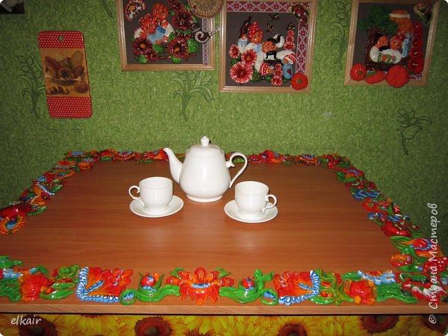 Цветочная феерия за столом фото 17