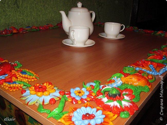 Цветочная феерия за столом фото 18