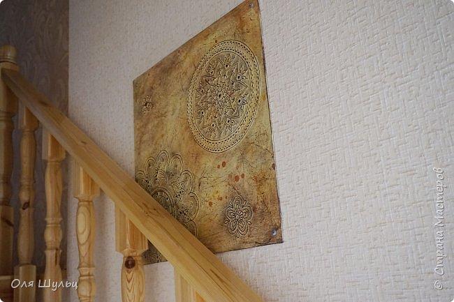 """Всем привет)))) Что-то я совсем обленилась выкладывать работы.... """"От этой картины на стене очень большая польза. Она дырку на обоях загораживает"""" (мама дяди Федора) фото 17"""