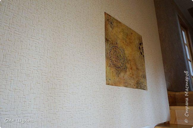 """Всем привет)))) Что-то я совсем обленилась выкладывать работы.... """"От этой картины на стене очень большая польза. Она дырку на обоях загораживает"""" (мама дяди Федора) фото 18"""