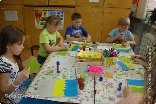 Увидела у Наташи  Яковлевой интересный МК http://stranamasterov.ru/node/968204 и решила попробовать с ребятами. фото 8