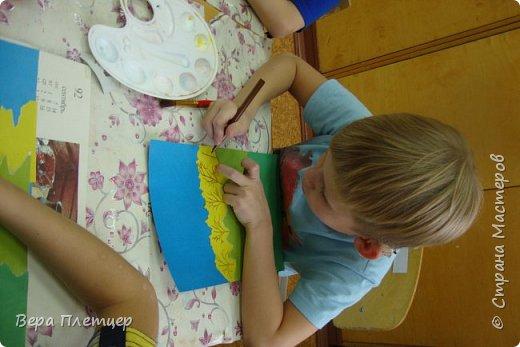 Увидела у Наташи  Яковлевой интересный МК http://stranamasterov.ru/node/968204 и решила попробовать с ребятами. фото 9