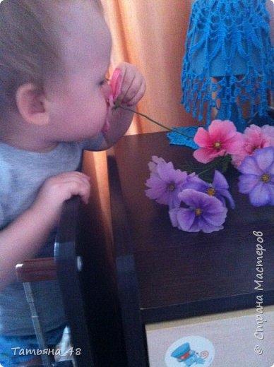 Добрый день, дорогие мастерицы! Выкладываю на ваше обсуждение мои вымученные цветы! Лепила их и занималась самоедством!  Всем была недовольна! И формой и цветом и тд... Но в итого.... понравилось. Фото много..... фото 20