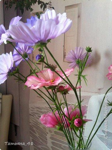 Добрый день, дорогие мастерицы! Выкладываю на ваше обсуждение мои вымученные цветы! Лепила их и занималась самоедством!  Всем была недовольна! И формой и цветом и тд... Но в итого.... понравилось. Фото много..... фото 1