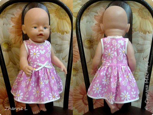 Очень увлек меня пошив кукольной одежды, вот еще небольшой гардероб для куколки )))  фото 7