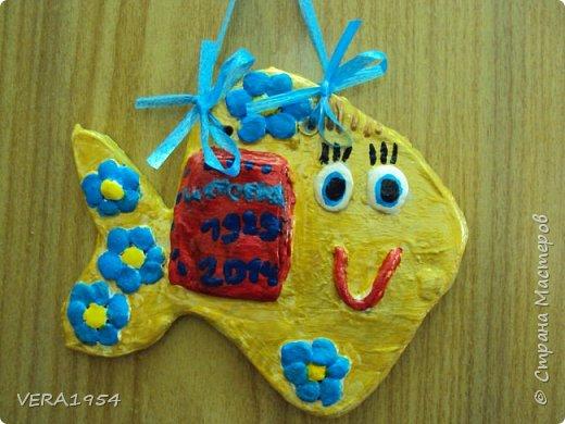 Добрый день, Страна!    Посмотрите, пожалуйста, наши панно, сделанные детьми 6-9 лет, в подарок к разным праздникам.Некоторые идеи брали у Страны мастеров. фото 15