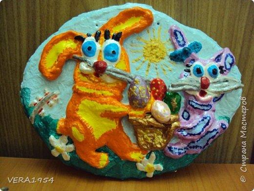 Добрый день, Страна!    Посмотрите, пожалуйста, наши панно, сделанные детьми 6-9 лет, в подарок к разным праздникам.Некоторые идеи брали у Страны мастеров. фото 9