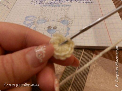 Решила сделать ещё один МК по пинеткам. На этот раз я покажу как вязать мишек Тэдди.Здесь можно посмотреть МК по зайкам - http://stranamasterov.ru/node/1046264 . фото 28