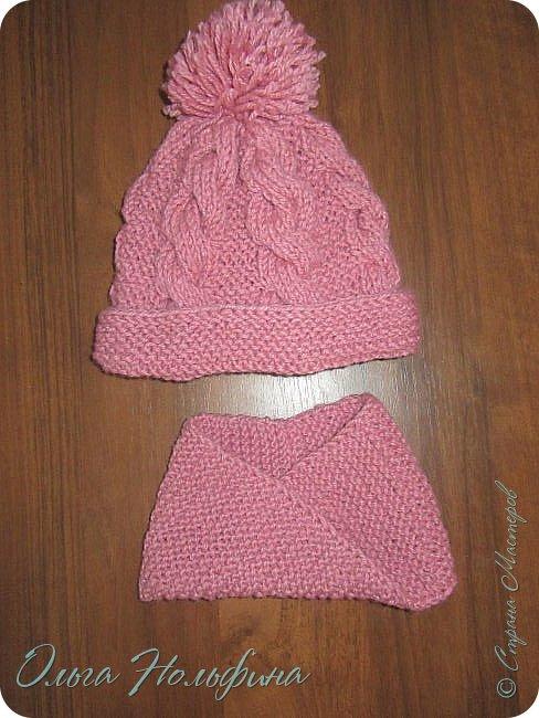 Вот такой шарфик я связала для маленькой Лионы. фото 4