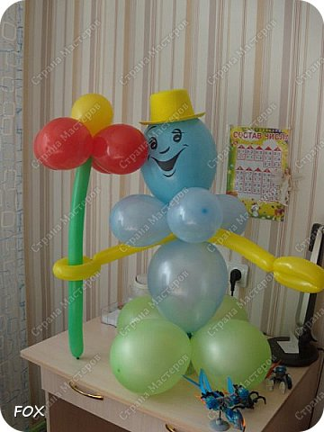 Вот такого клоуна сделала сыну на день рождения! Делала впервые.