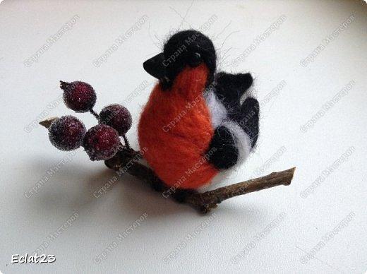 """""""Навалялась"""" вот такая птичья стайка. Будут сувенирами к новому году. фото 4"""