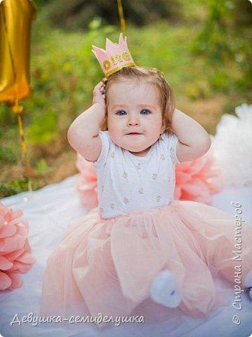 Вашей принцессе нужна корона? А может быть у Вас принц? Бывают моменты, когда без короны просто не обойтись :-)! Это может быть Первый День рождения или другой праздник для Вашего любимого малыша. На маленьких головушках так мило смотрятся небольшие короны! фото 4