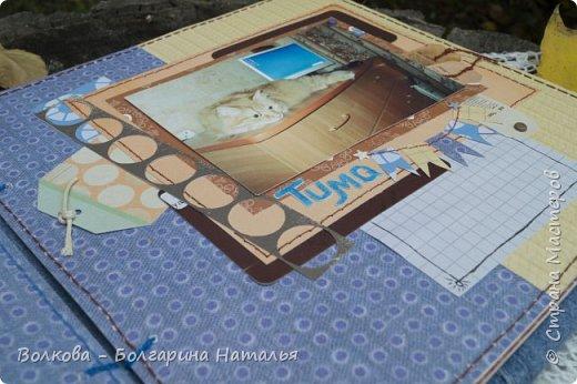 Подошёл к концу совместный проект на Скрап-Инфо http://scrap-info.ru/newbb_plus/viewforum.php?forum=199 с Дарьей Пневой. И вот мой  про Тимофея. UPD: 24.10.2016. Какая же я нудная, решила вот перефоткать свой альбом про Тимофея, а то как-то я его убого фоткала в потёмках при свете лампы. фото 24