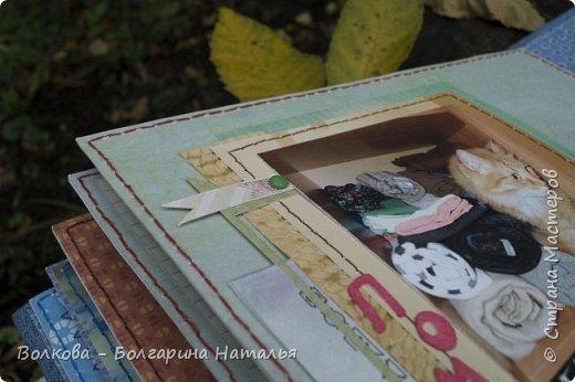 Подошёл к концу совместный проект на Скрап-Инфо http://scrap-info.ru/newbb_plus/viewforum.php?forum=199 с Дарьей Пневой. И вот мой  про Тимофея. UPD: 24.10.2016. Какая же я нудная, решила вот перефоткать свой альбом про Тимофея, а то как-то я его убого фоткала в потёмках при свете лампы. фото 43