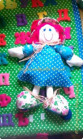 Здравствуйте жители страны мастеров! Вот такая куколка у меня получилась. фото 3