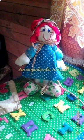 Здравствуйте жители страны мастеров! Вот такая куколка у меня получилась. фото 1