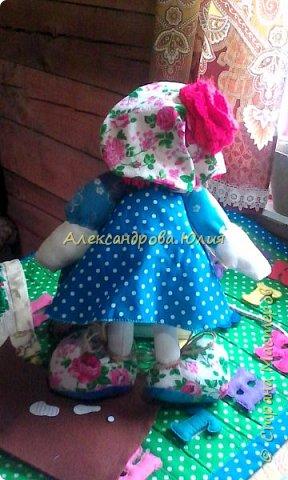 Здравствуйте жители страны мастеров! Вот такая куколка у меня получилась. фото 2