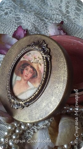 Такая красоточка получилась!))))) и кракелюрчик изумительный получился.... вот из одной банки, а всегда по разному..... фото 4
