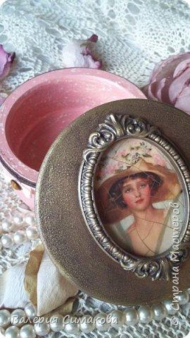 Такая красоточка получилась!))))) и кракелюрчик изумительный получился.... вот из одной банки, а всегда по разному..... фото 2