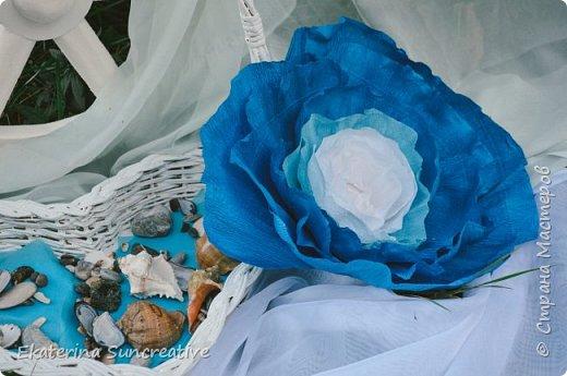 Весной, открыла для себя мир гигантских цветов! Я дизайнер цветочных аксессуаров,подруга попросила сделать объемный цветок, только гигантского размера.  И после первого цветочка, я поняла, что это очень увлекаетельное занятие!  Мои работы ниже.  Рада вашим отзывам!  фото 2