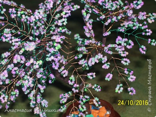 Дерево из бисера фото 2
