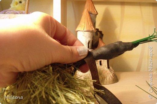 """Всем привет! Представляю на Ваш суд свое творение из пряжи """"Травка"""" - дерево ИВА ПЛАКУЧАЯ ))) фото 15"""