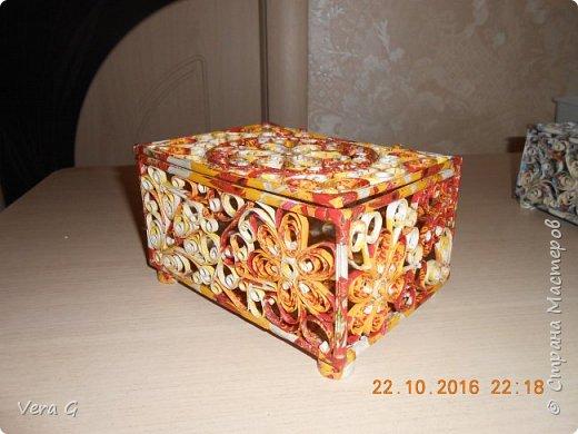 шкатулки получаются непохожие друг на друга, как рисунком так и цветом фото 4