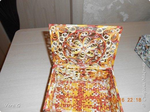 шкатулки получаются непохожие друг на друга, как рисунком так и цветом фото 5