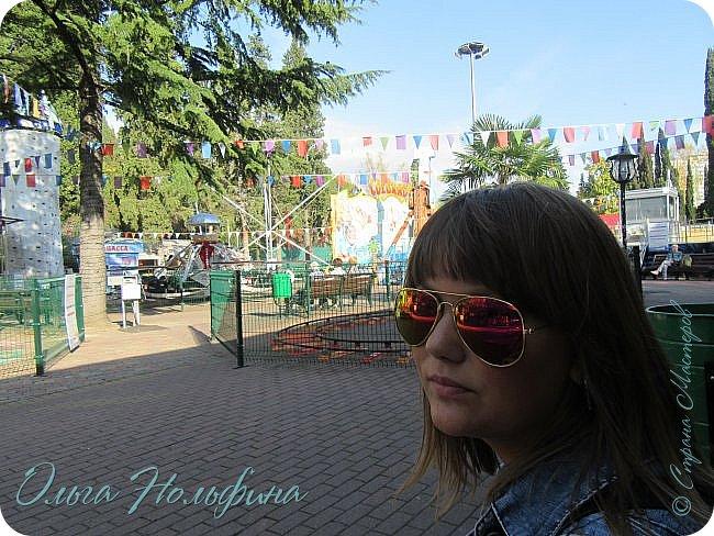 Сегодня мы отдыхали и веселились в Сочинском парке Ривьера. Это центральный вход в парк. фото 13