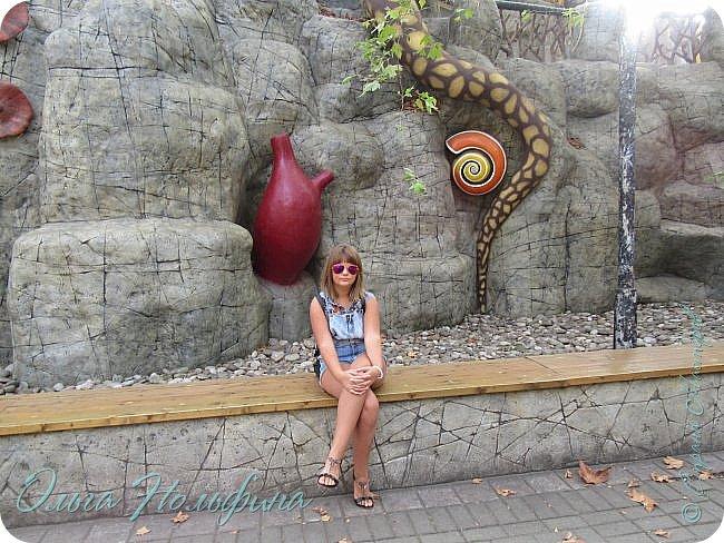 Сегодня мы отдыхали и веселились в Сочинском парке Ривьера. Это центральный вход в парк. фото 15