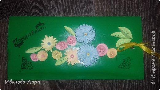 Такую открытку мы с классом сделали на День Матери фото 1