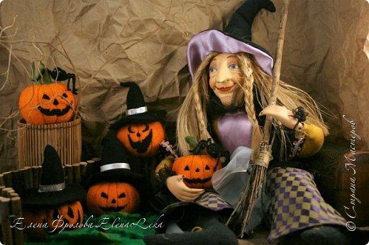 Тыква на Хэллоуин фото 1