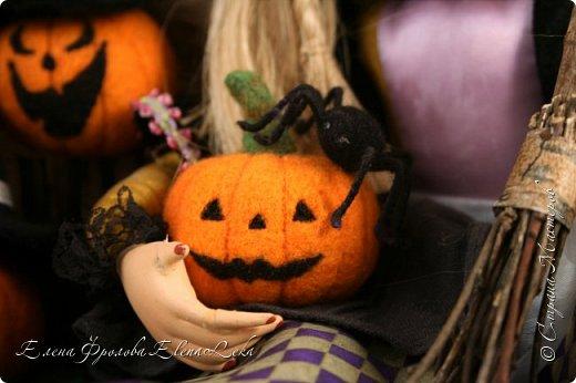 Тыква на Хэллоуин фото 2