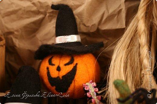 Тыква на Хэллоуин фото 3