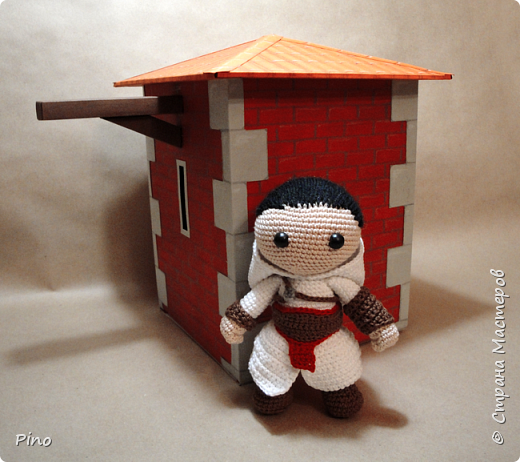 Герой серии игр Assassin's Creed, судя по костюму, первой части, автор Zhay, перевод Виктории Мазур фото 7