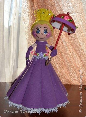 Кукла из фоамирана... фото 1