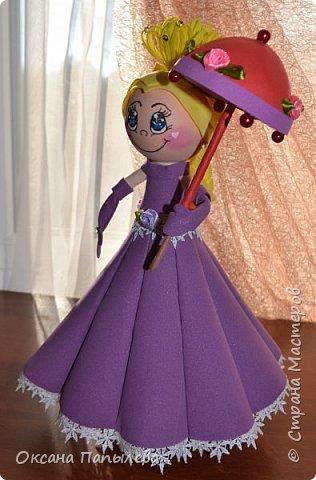 Кукла из фоамирана... фото 2