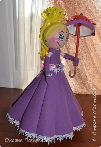 Кукла из фоамирана... фото 4