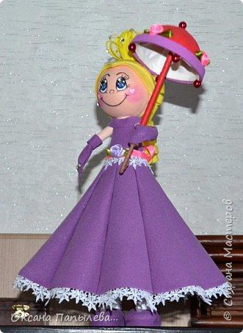 Кукла из фоамирана... фото 5